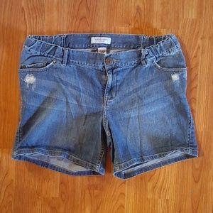 EUC! Maternity shorts